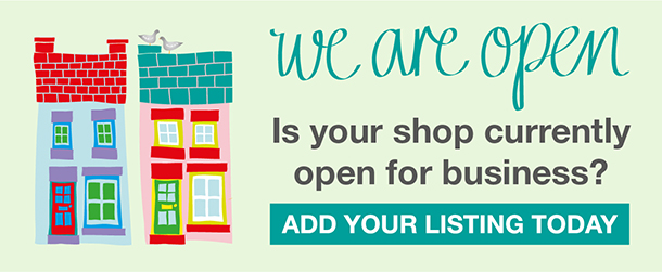 we are open - Open Shops UK
