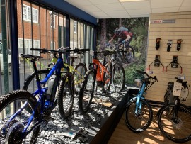 E-Bike Window Display